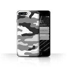 Case/Cover Apple iPhone 7 Plus / Camouflage Army Navy / White 2