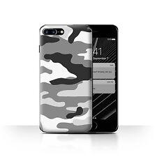 Estuche/Cubierta Apple iPhone 7/Camuflaje Army Navy/Plus Blanco 2