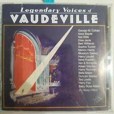 Legendary Voices of Vaudeville 2 CD set, Historic Recordings