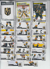 20/21 OPC Vegas Golden Knights Team Set w/RCs + Inserts - Fleury Quinney RC +