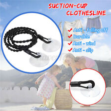 Travel Clothesline Retractable Windproof Laundry Rope Non-Slip Clothes Line