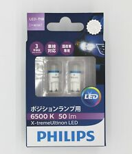 PHILIPS LED T10 W5W 12V5W 12799  6500K day white light auto car lamp bulb