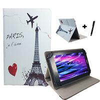 10.1 zoll Motiv Tablet Tasche Hülle - Archos 101f Neon - Paris