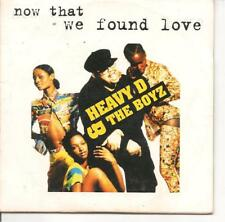 CD SINGLE 2 TITRES--HEAVY D & THE BOYZ--NOW THAT WE FOUND LOVE--1994