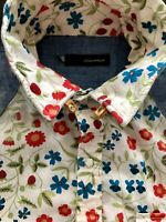 DSQUARED2 S/S 2006 WESTERN COWBOY GIRL SHIRT BLOUSE BLUSE HEMD 46 40 CHEMISE TOP