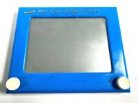 1971 OHIO ART MAGIC ETCH A SKETCH SCREEN 505 vintage drawing toy RARE LIGHT BLUE