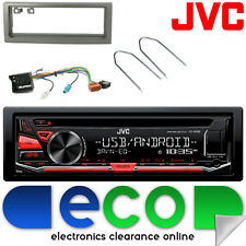 Peugeot 407 2007-2012 Jvc Cd Mp3 Usb Aux Ipod auto estéreo RADIO Facia Kit de montaje