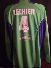 Signed Supercross /Motocross Jersey Ron Lechien Kawasaki JT Racing HOFer maxima