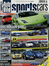 Auto Bild Sports Cars 8 08 2008 Focus RS Astra OPC Heico S80 KTM X-Bow 911 GT2