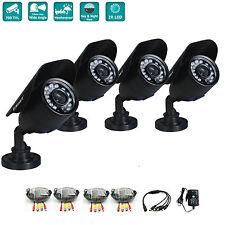 iSmart 4Pcs 700TVL Security Camera CCTV System 3.6mm IR Cut Night vision Outdoor