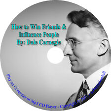 How to Win Friends and Influence People Audio Mp3 Book on CD By Dale Carnegie A1