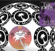 THE LORDS-ISLAND DEF JAM RECORDS-TAKE DAT- PROMOTIONAL COPY EX CONDITION