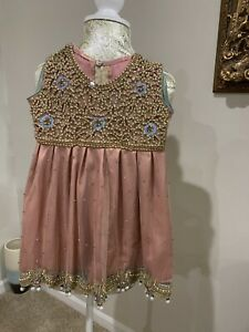 Pakistani /Indian Small Girl dresses For Wedding And Party Wear