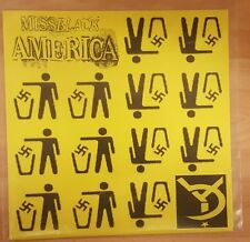 """MISS BLACK AMERICA & CULTURAL ICE AGE 'DROWNING BY NUMBERS' - 7"""" YELLOW VINYL"""