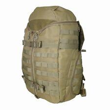 Tri Zip Military / tactical Style Back pack Khaki Rucksack