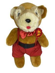L.J. HOOKER Teddy Bear Plush Soft Toy - Mr Hooker - Mascot - Jointed Bear - 33cm