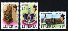 Liberia 1978 MiNr. 1068/70 postfrisch MNH **