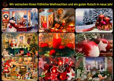 Weihnachten abwaschbar Platzdeckchen Tischdeckchen Tischset 2 bis 10er Set Neue