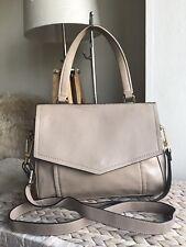 Autograph Marks and Spencer nude beige genuine leather handbag shoulder bag
