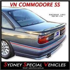 SS REAR SPOILER FOR VN VP COMMODORE SEDAN - 3 PIECE BOOT WING NEW BOBTAIL