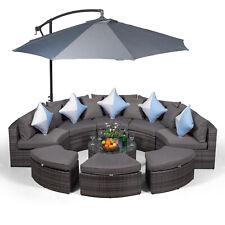 Modern Furniture Direct Rattan Garden Furniture Set, Size Large