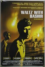 WALTZ WITH BASHIR ROLLED ORIG 1SH MOVIE POSTER ANIMATION ISRAEL PALESTINE (2008)