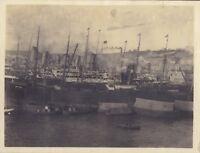 Port Da Genova Italia Foto snapshot Vintage Analogica Ca 1910