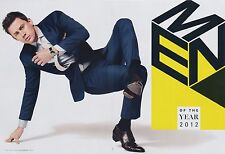 Channing Tatum 6pg + cover GQ magazine feature, clippings