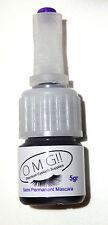 Black Semi Permanent Mascara 2 x 5g Bottle Made In The UK Pre Blended. AI