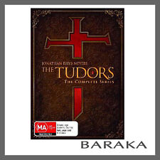 THE TUDORS THE COMPLETE SERIES COLLECTION 1, 2, 3 & 4 DVD BOX SET R4 New Sealed