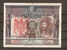 SELLO AGUILA DE SAN JUAN 1000 PESETAS 1925, BURGOS CIVIL RESELLO FRANCO jhbfccc