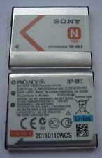 Batterie ORIGINALE SONY NP-BN1 3,6V  630mAh 2,3Wh NEUVE