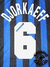 DJORKAEFF KIT INTER HOME NAME SET PERSONALIZZAZIONE FLOCK 1996-97