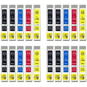 20 Ink Cartridges for Epson Stylus BX3450, DX4000, DX4050, DX7400, SX200