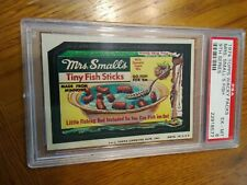 1974 Topps Wacky Packages Mrs Smalls Fish 9th Series PSA 6