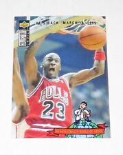1995 Michael Jordan NBA Upper Deck 'He's Back March 19, 1995' Reprint Card #402
