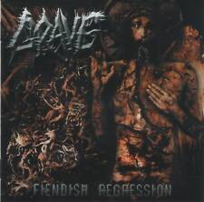 GRAVE - FIENDISH REGRESSION (2004) Death Metal CD Jewel Case by Fono Music+GIFT