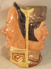 Royal Doulton Character Jug Davy Crockett & Antonio Lopez de Santa Anna D6729