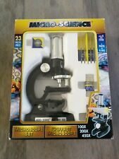 Vintage Micro Science Microscope Set (1998) - Complete - New in box