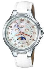 Casio Sheen SHE-3045L-7A Swarovski® Crystals Elegant Styles Ladies' Watch