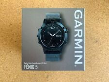 New Garmin Fenix 5 Sapphire Gps 47mm - Black w/ Black Band