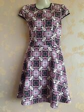 Ted Baker Crochet Rose Skater Dress Size:1/8 UK BNWT