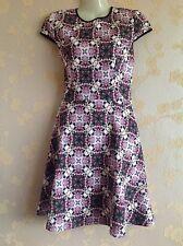 Ted Baker Crochet Rose Skater Dress Size:1/8 UK BNWT