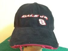 Dale Earnhardt Jr Budweiser #8 Distressed Custom Baseball Hat Cap