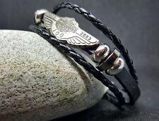 HARLEY DAVIDSON 100 Anniversary Leather Bracelet