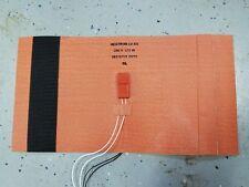 Heavy duty silicone heat sheet, strip heater, heating pad. 240V 575W