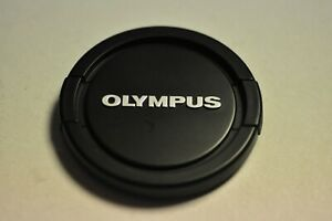 Olympus 62mm pinch on front lens cap.