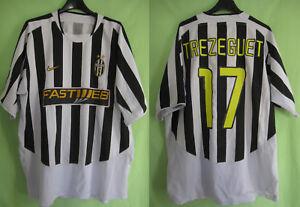 Maillot Juventus Trezeguet #17 Nike Fastweb vintage shirt juve calcio - XL