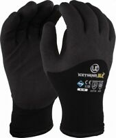 WINTER WORK GLOVES Tough Yard Stable Riding Garden Waterproof UK 7-10
