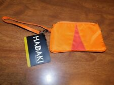 Hadaki Ladies' Wristlet Accessory Bag, Orange & Red, New w/Tags, FREE S&H